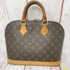 Louis Vuitton Monogram Alma PM Bag